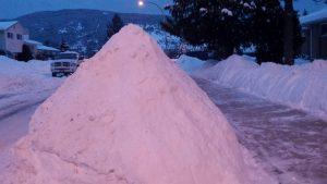 snow-pile
