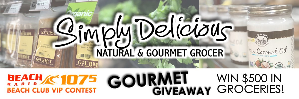 Simply Delicious Gourmet Giveaway